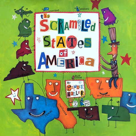 Teach From The Heart: Scrambled States of America game!