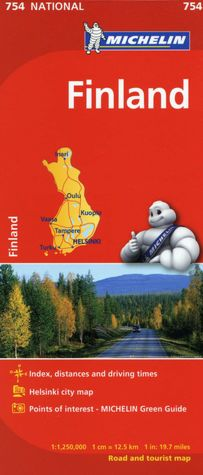 The Savvy Traveller Michelin Nordic Countries Denmark Finland - Michelin norway map 752