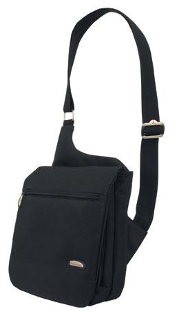 The Savvy Traveller Travelon Messenger Bag