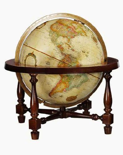 The savvy traveller replogle globes the replogle for 16 inch floor old world bar globe cart